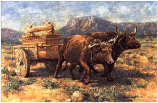 At Beth Shemesh Ark: The Ark Returns To Israel (I Samuel 6:1