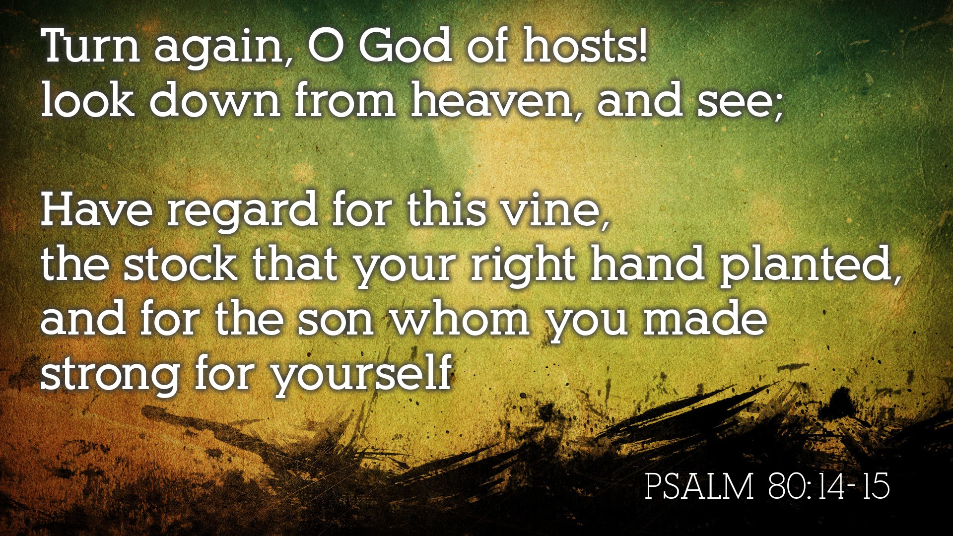 Prayers for Forgiveness & Restoration (Psalm 79 – 80) – Devoted To You