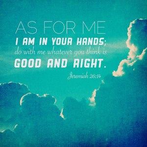 jeremiah 26 14