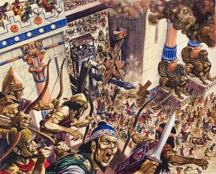 Destruction of Jerusalem - 587 BC