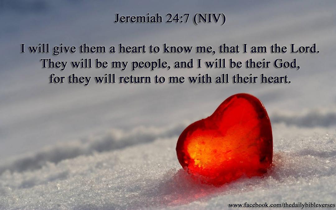 Jeremiah 24-7