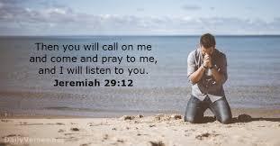 jeremiah 29-12