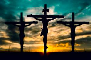 silhouette-of-jesus-with-cross-over-sunset-concept-for-religion-worship-prayer-and-praise-