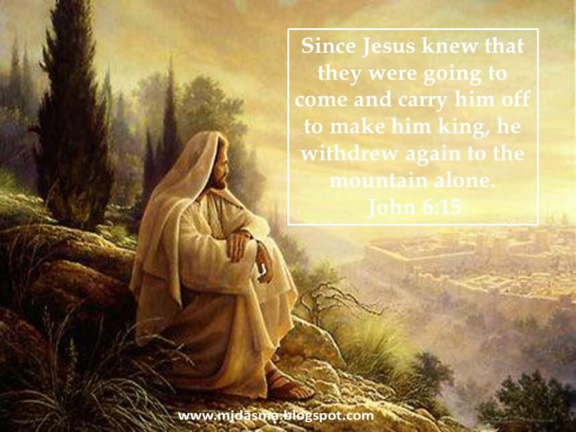 Image result for John 6:15